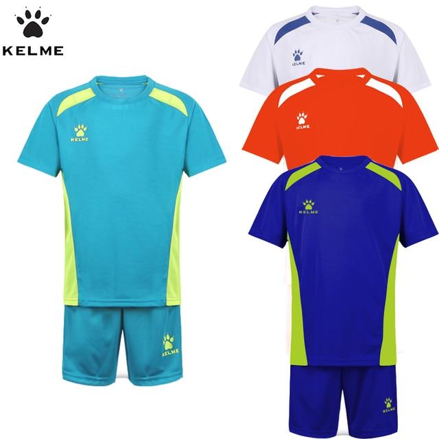 37c61d3e0c833 Kelme niños Sets de fútbol Niños verano fútbol Jerséis ropa 2 unids ropa  deportiva para niños