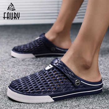 2019 Summer Nurse Doctor Shoes Comfortable Breathable Anti-skid Soft Bottom Surgical Slippers Men Hospital Laboratory Work Shoes - DISCOUNT ITEM  37 OFF Novelty & Special Use