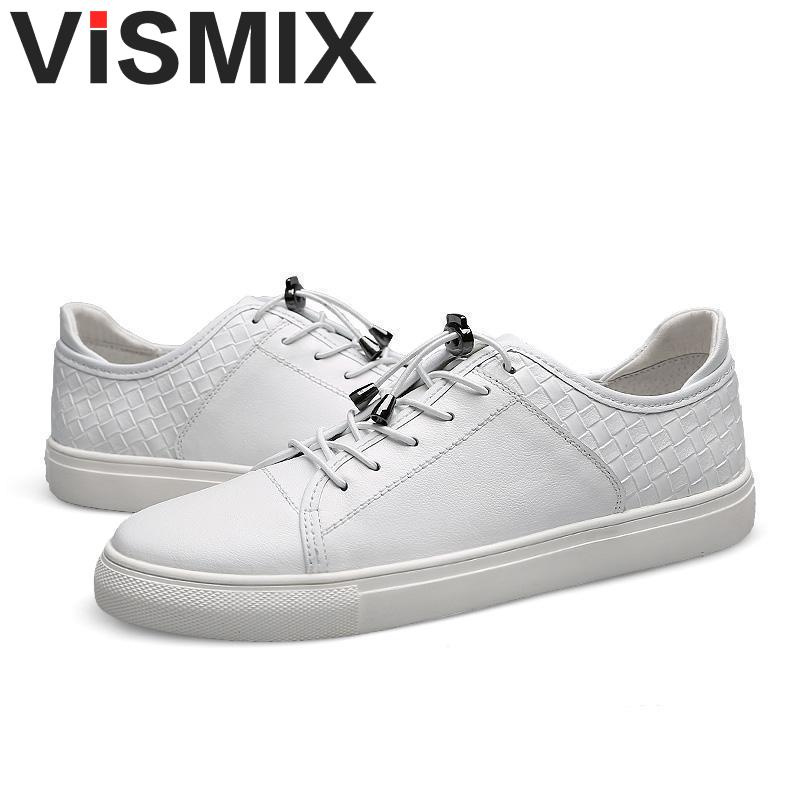 fdcf5dec9ead VISMIX Mens Shoes 2017 Men Genuine Leather Casual Shoes Breathable Men  Flats Shoes Luxury Brand Male Shoes Footwear Men Shose-in Oxfords from Shoes  on ...