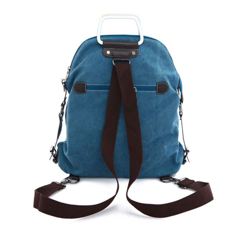 2017 High Quality New Fashion Backpack Women Brief Shoulder Bag Canvas Backpack Korean Style Leisure Travel