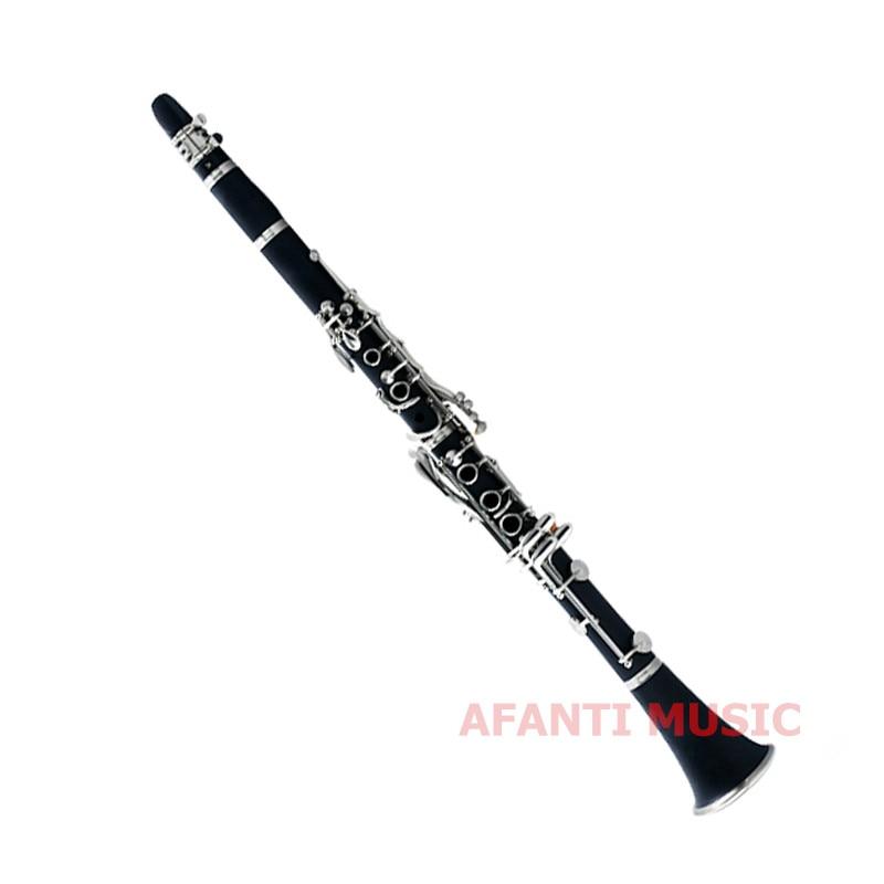 Afanti musique chute de l'air B/clarinette en bois synthétique (CLA-139)