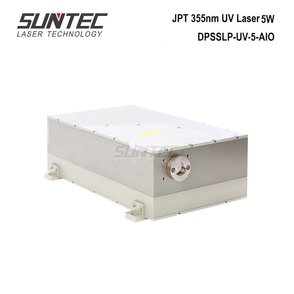 Suntec JPT 355nm UV Laser 5W Module UV Laser Source Generator Solid State Water Cooling For UV Laser DPSSLP-UV-5-AIO