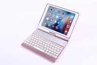2017 Fashion 360 Degree Rotating Colorful Keyboard Case For Ipad Air 1 2 Tablet PC For