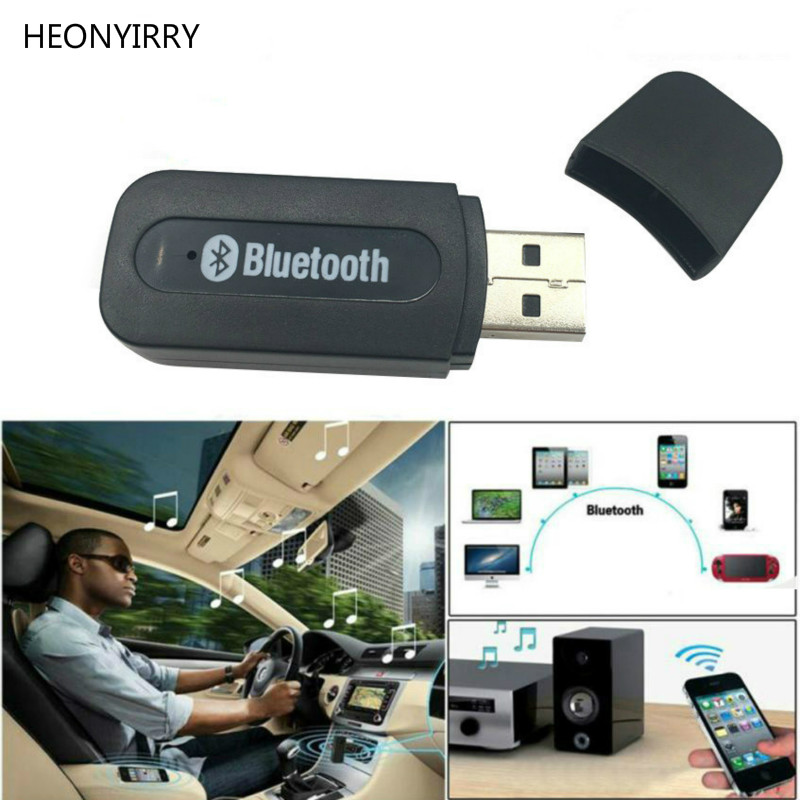 USB Bluetooth Aux Wireless Portable Mini Car Bluetooth Music mp3 Audio Receiver Adapter 3.5mm Stereo for iPhone Android phones usb bluetooth stereo audio music receiver adapter