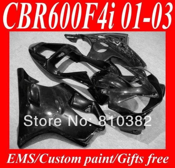 Injection mold fairing kit for honda cbr600 f4i 01 02 03 cbr600f4i 2001 2002 2003 f4i cbr600 all glos