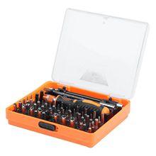 WSFS Hot Kit 53 in 1 Multi Bit Tool Precision Screwdriver Tweezers for Telephone DIY Reparation