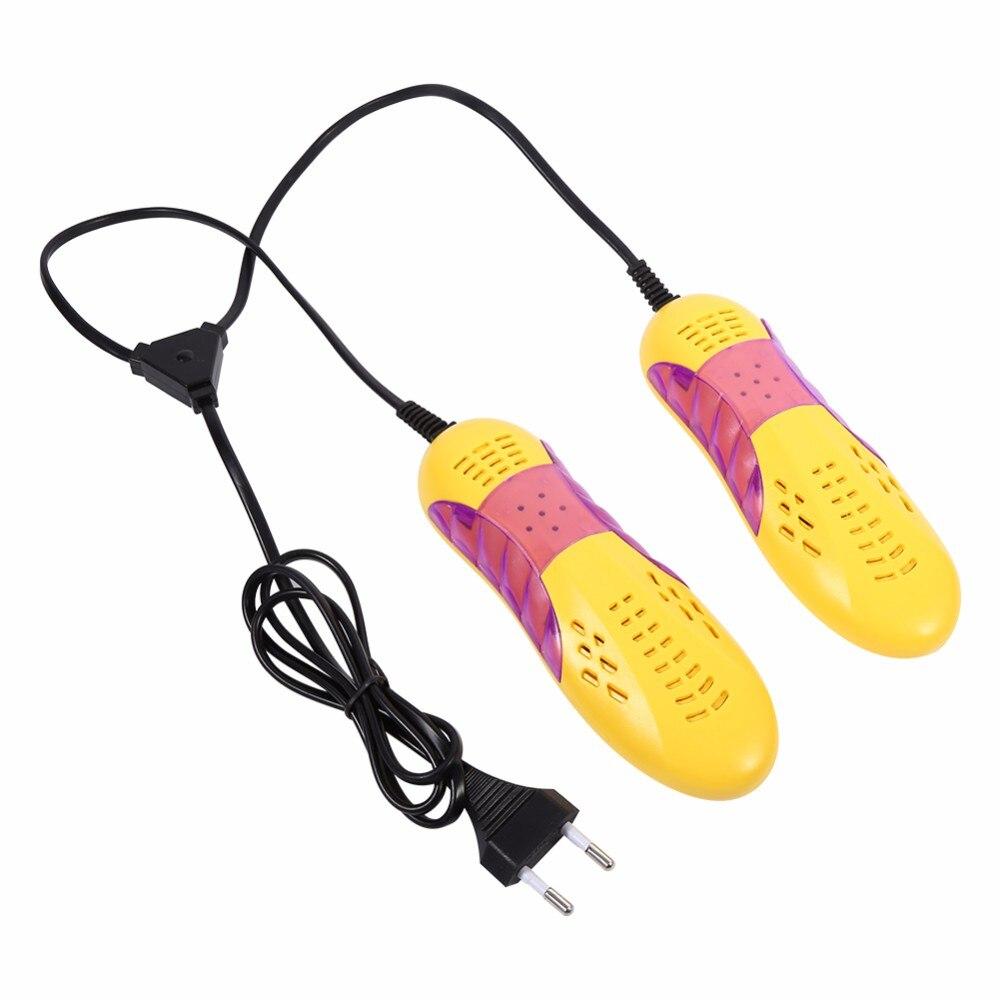 Shoe Dryer Boot Sterilizer Winter Shoe Warmer Boot Socks Deodorant Dehumidify Device 220V EU Plug Electric shoe Heater Dryer цены