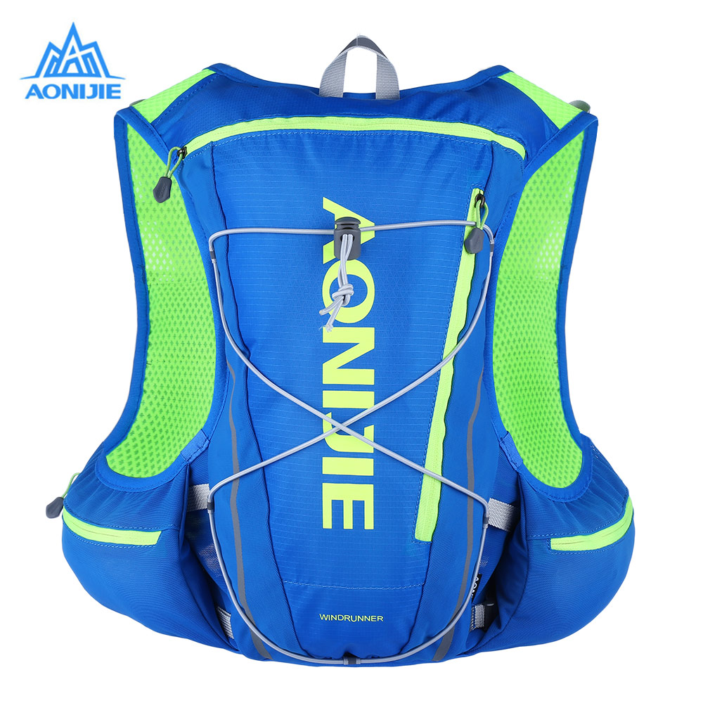 AONIJIE 13L Women Men Marathon Vest Hydration Pack for Water Bag Racing Cycling Hiking Bag Outdoor Sport Running Backpack цена