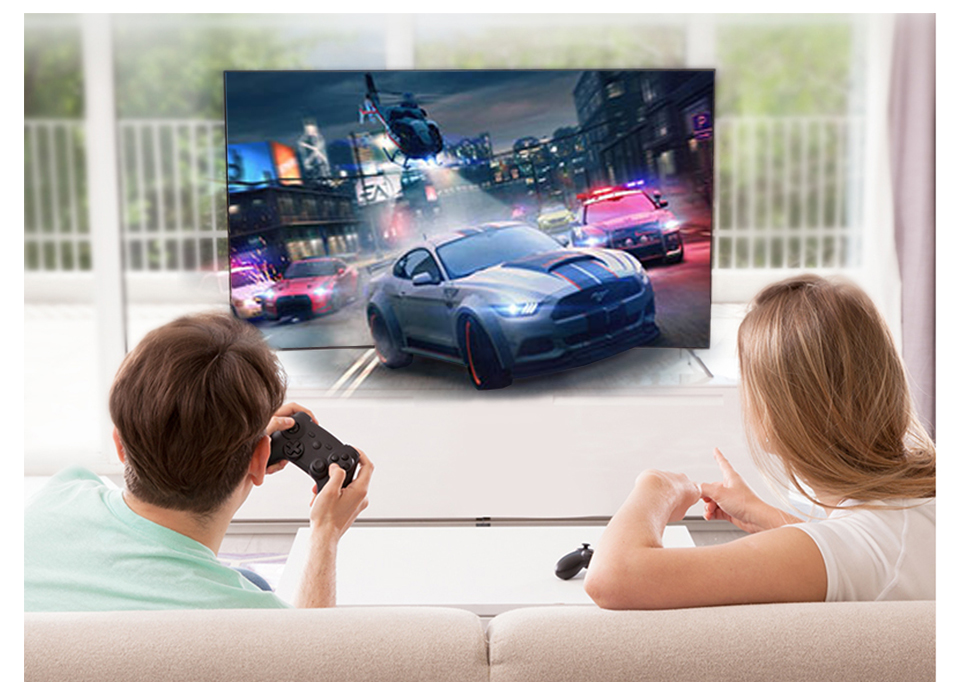 Leadcool S2 with 1 Year QHDTV Arabic French IPTV Subscription FULL HD 4K Android 8.1 Box Europe Italy Spanish IPTV Subscription  (13)