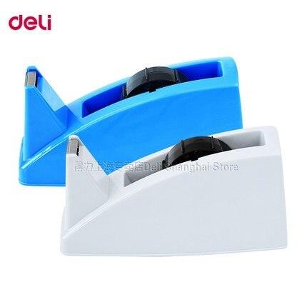 1 pc Tape dispenser middle size for adhesive tape width less than 24mm  easy to use Deli 812 комплектующие для стиральных машин 02 100