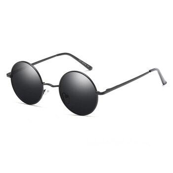 e8b18dd04b 2018 Ray marca diseñador clásico polarizado conducción gafas de sol  redondas hombres Retro John Lennon gafas de moda de Metal para mujer gafas
