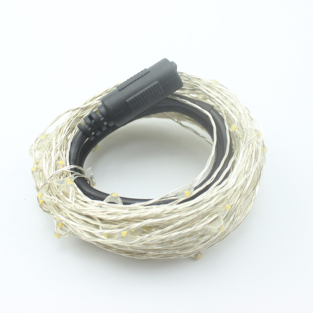 Copper Wire LED vine Light Kung 12V 50pcs/lot warm white red green ...