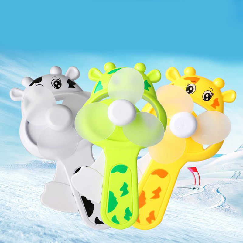 Gags & Practical Jokes 1 Pc Portable Mini Giraffe Air Cool Fan Childrens Hand-cranked Fan Toy Outdoor Supplies Summer Cool Tools Game Novelty & Gag Toys