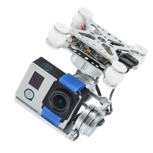 цена на 3 Axis Brushless Gimbal Camera Mount & 32bit Storm32 Controller Broad For Gopro3 Gopro4 SJ4000 Xiaoyi Camera DIY FPV