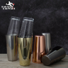5 Different Color Stainless Steel Boston Shaker & 16 Oz. Mixing Glass Kit недорого