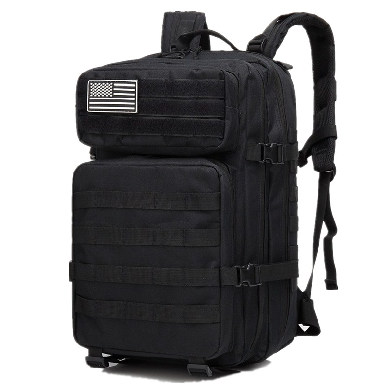 40L Military Tactical Assault Pack Backpack Army Molle Waterproof Large Capacity Rucksack for Outdoor Hiking Camping