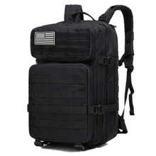 40L Military Tactical Assault Pack Backpack Army Molle Waterproof Large Capacity Rucksack for Outdoor Hiking Camping Hunting цена и фото