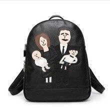 2017 мода PU рюкзаки женщины сумки плеча сумки дорожные сумки