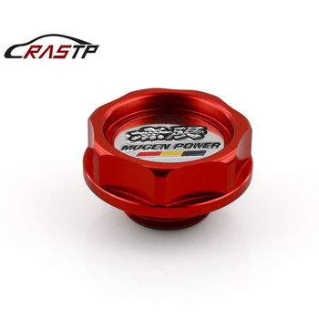 цена на RASTP-Power Performance Oil Cap Aluminum Radiator Cap Cover Mugen Fit for Honda Accord Civic RS-CAP003