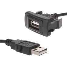 AUX USB порт кабель адаптер 12-24 В шнур провод usb Зарядка адаптер для Toyota VIGO