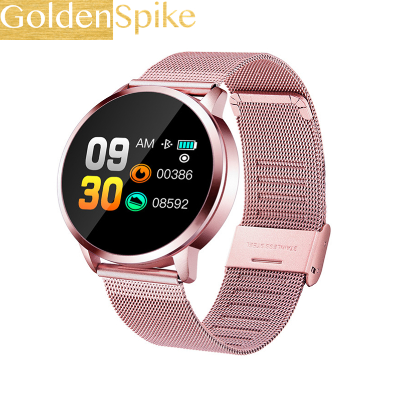 Q8 Bluetooth Smartwatch Support Blood Pressure Heart Rate  IP67 Waterproof Sports Smart Watch For Xiaomi Samsung Huawei Iphone