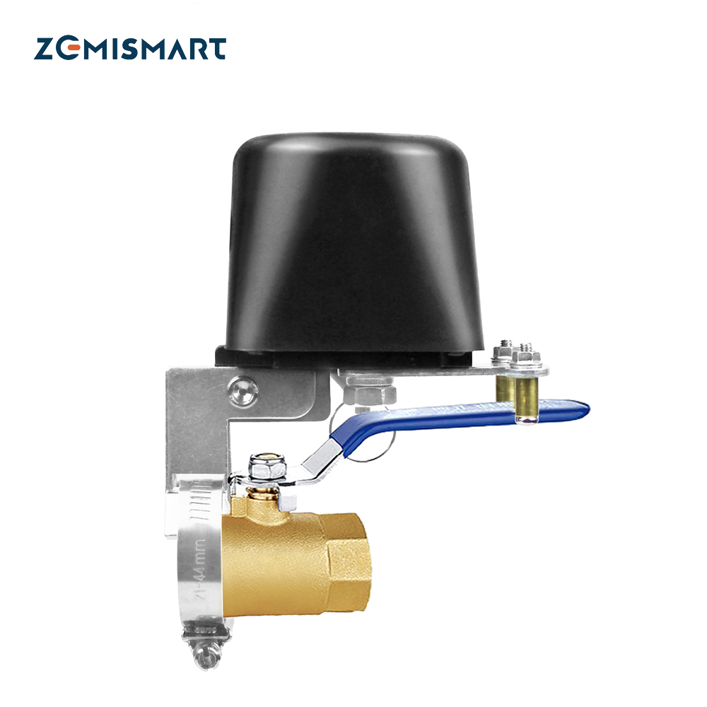 Electronic Tuya Smart WiFi Water Shut Off Zigbee Irrigation Controller Watering System Automatic Gas Valve SmartThings Control