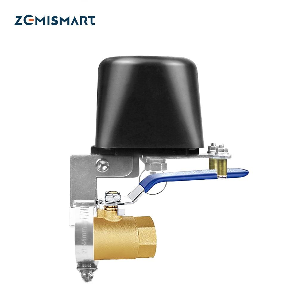 Tuya eletrônico inteligente wifi água desligar zigbee controlador de irrigação sistema rega válvula gás automático smartthings controle