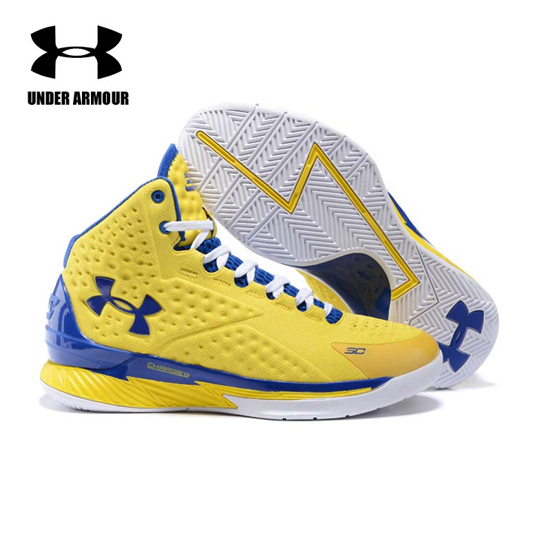 b3156d39693f Aliexpress.com   Buy Under Armour Men Curry V1 Basketball shoes Zapatillas  De Baloncesto training boots Cushioning classic Stephen Curry Sneakers from  ...