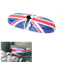 купить For MINI Cooper R56 Car Interior Rearview Mirror Sticker For Mini Countryman R60 Accessories MINI R56 R55 Clubman R61 Paceman дешево