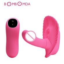 Female Wearable Dildo Vibrators G spot Stimulate Massage 10 Frequency Vibration Masturbators Adults Products Sex Toys