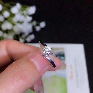 Image 2 - Moissanite, 0.5 karatów super modne sprzedawanie, porównywalne z diamentami, wykwintne rzemiosło