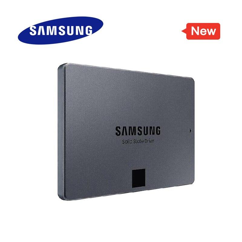 SAMSUNG SSD 860 QVO 1 to disque dur à semi-conducteurs interne disque dur HDD SATA3 2.5 pouces ordinateur de bureau portable MLC nouveau