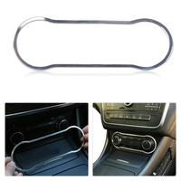 Car Interior Console A C Switch Button Frame Trim Panel For Mercedes Benz A B CLA