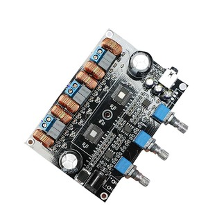 Image 3 - TPA3116D2 18V a 24V Subwoofer Digital Audio Amplificatore Consiglio 50w + 50W + 100W 2.1 canale amplificador B1 002