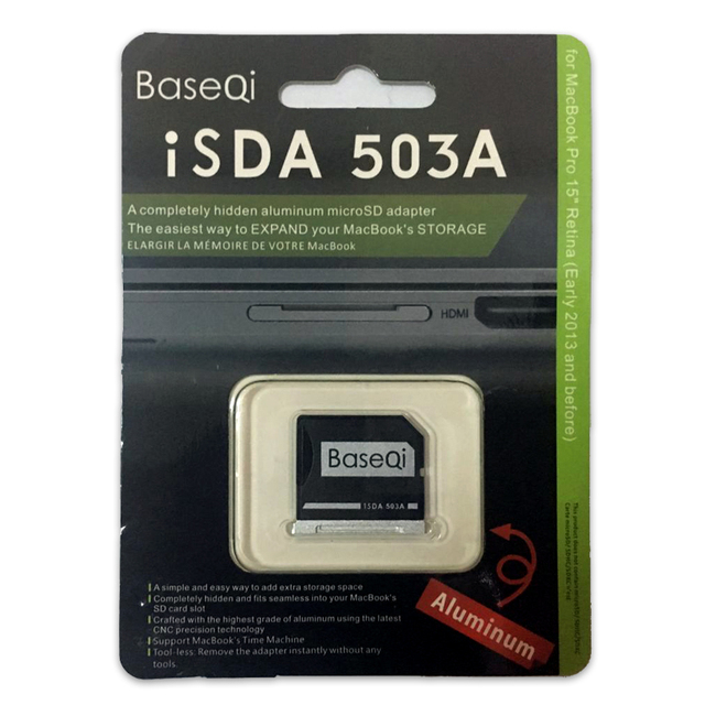 503A Baseqi Mini Card Адаптер Привод Для Macbook Pro Retina 15 ''Model Mid 2012/Начале 2013 Года