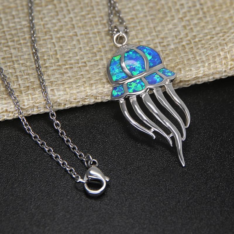 4eb71caedbc2 Collar de cadena de acero inoxidable de Color plateado con cuentas de  dragón rojo estilo Punk