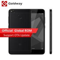 Original Xiaomi Redmi 4X 4 X 4GB RAM 64GB Mobile Phone Snapdragon 435 Octa Core 5.0