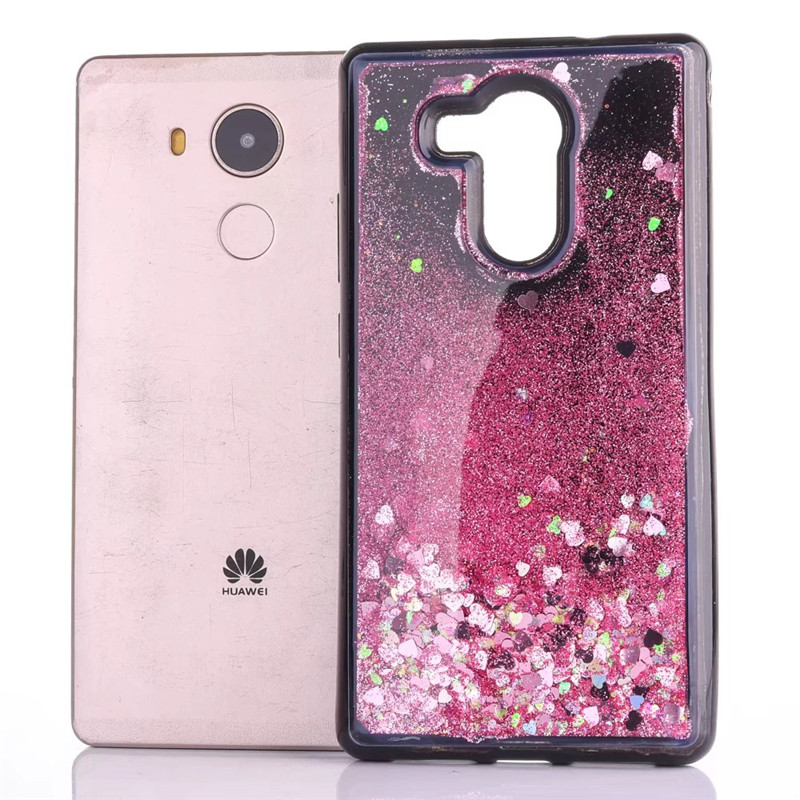 For Huawei P8 P9 Lite 2017 P10 Plus case Dynamic Liquid Glitter Bling Star Quicksand Soft TPU Back Cover For P20 Pro Coque
