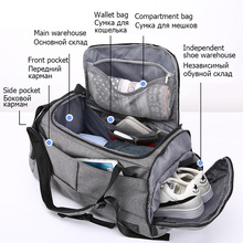 15 inch Gym Bag Multifunction Men Sports Bags Woman Fitness Bags Laptop Backpack
