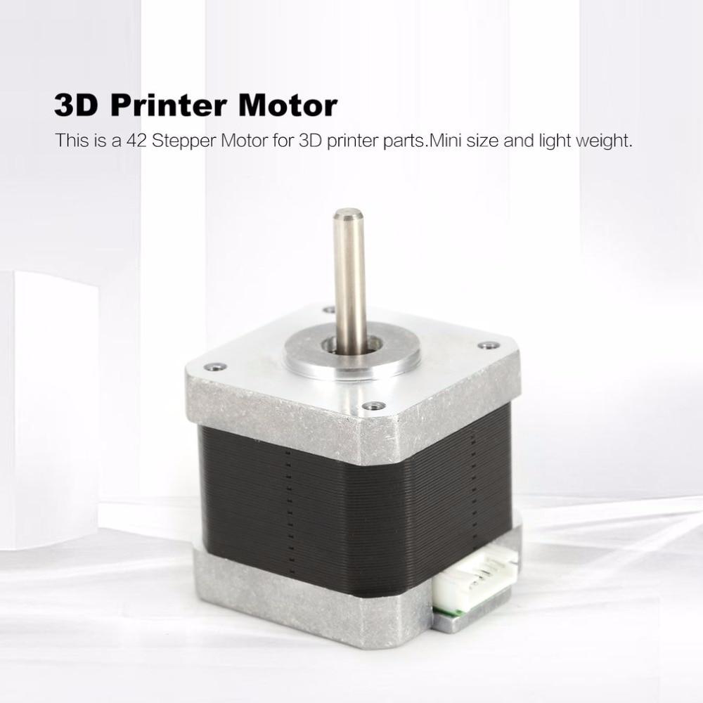 3D Printer Motor 42 Stepper Motor 42 motor Nema 1.5A D-axis DC motor 0.55n 1.8 degrees motor for CNC XYZ3D Printer Motor 42 Stepper Motor 42 motor Nema 1.5A D-axis DC motor 0.55n 1.8 degrees motor for CNC XYZ