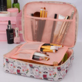 Brand Neceser Portable Toiletry Cosmetic Bag Waterproof Makeup Make Up Wash Organizer Storage Pouch Travel Kit Bag Hand