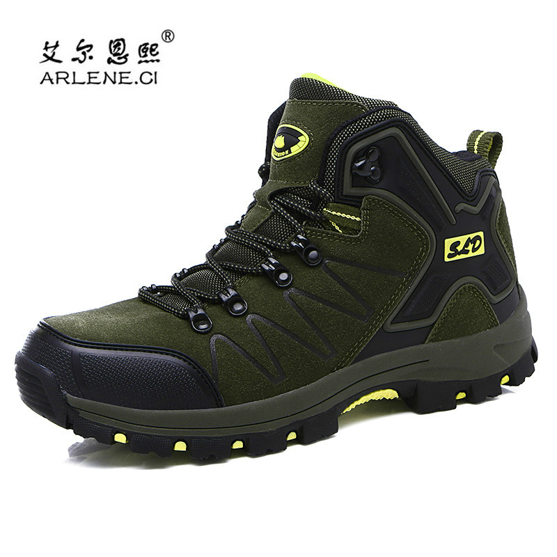 2019 New Professional Hiking Shoes For Men Women Wear-resistant Boots Outdoor Climbing Boots For Mountain Camping In Cold Winter