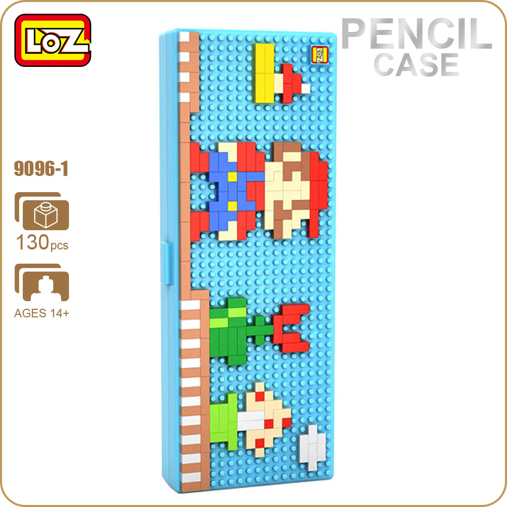 LOZ ideas Diamond Block Pixel Pencil Case School Cute Plastic Storage Box Gift for Children Toys For Kids ABS DIY Kawaii 9096-1 spark storage bag portable carrying case storage box for spark drone accessories can put remote control battery and other parts