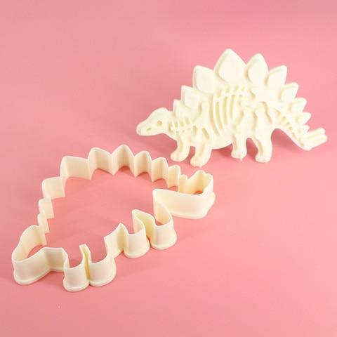 Dropshipping Dinosaur Shape Cookie Cutter Mold Biscuit 3D  Baking Mold Karachi
