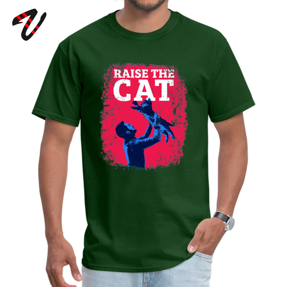 Raise The Cat T Shirt Brand New Pink Guy Unique Pure Cotton Round Collar Men Tops amp Tees Funny Tee Shirt ostern Day Dark Souls in T Shirts from Men 39 s Clothing