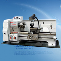 Household lathe metal processing lathe industrial machine tool precision small lathe high power long hole