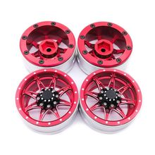 Premium New 4Pcs 1.9 Inch Metal RC Car Wheel Hub for 1:10 Rock Crawler Redcat SCX10 AXIAL Spare Parts new 1 25 inch fitting colour filter wheel for telescopes full metal