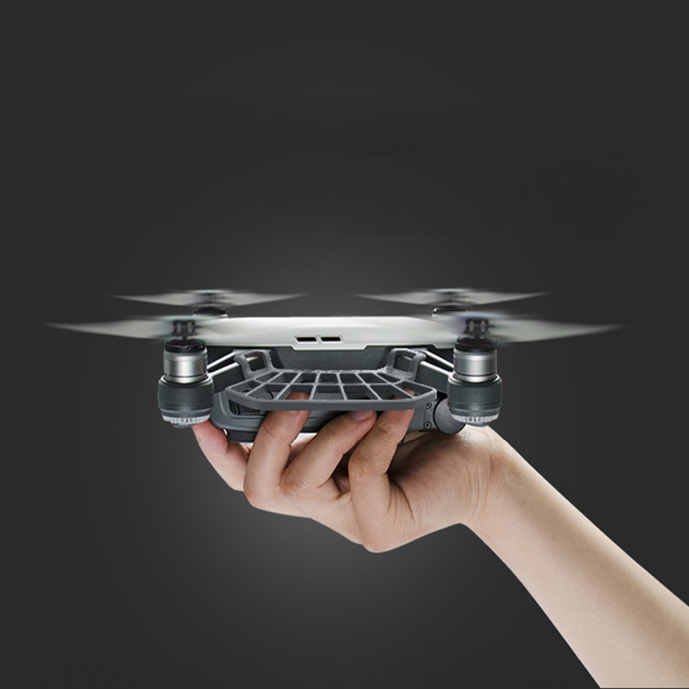 For DJI SPARK Drone Accessories Palm Take Off and Landing Hand Finger Guard Protector Fence Light Weight Easy Install