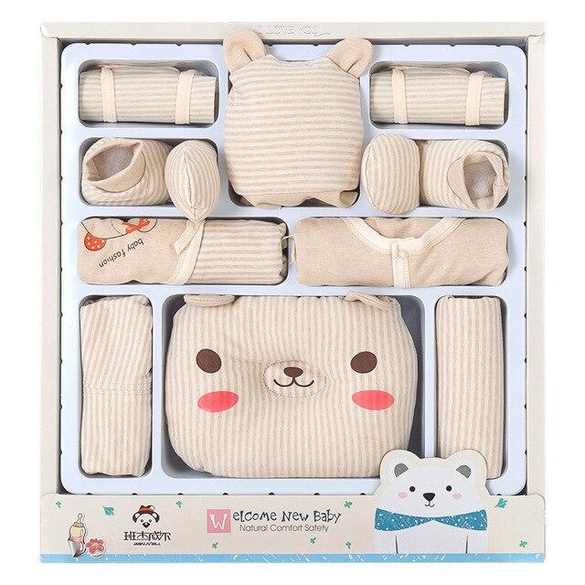 NEW 0 6Month Newborn Baby Clothes Soft Cotton Toddler Boy Girl Set Infant Clothing New Born Gift Sets SJDBX