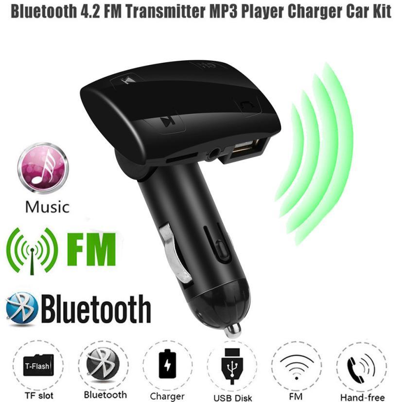 Streng Newwireless Hände-freies X1 Usb Ladung FÜhrte Mp3 Bluetooth Auto Fm Transmitter Tf Karte Usb Mp3 Modul Mp3 Player Mini Tropfen Verschiffen Unterhaltungselektronik Mp3-player